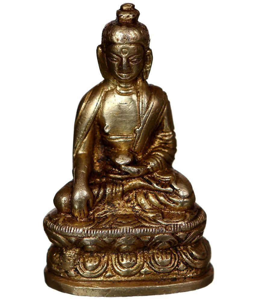 Bgroovy Brown Brass Buddha Idol