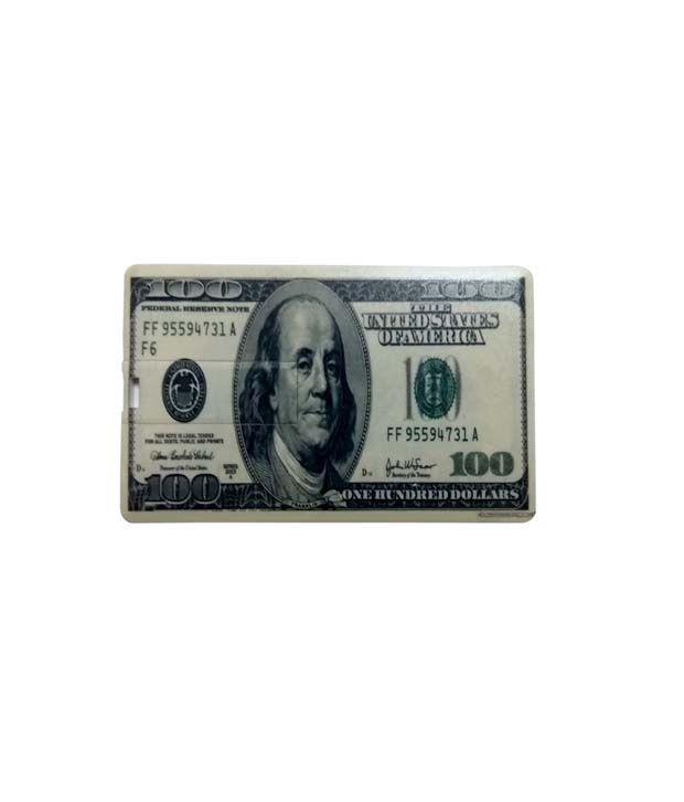Flipfit MNU9 16 GB Credit Card Pendrive White & Black