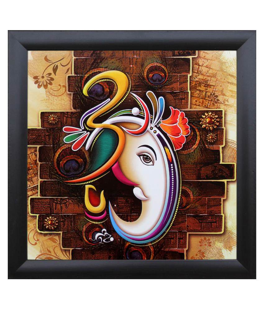 SAF Multicolour Religious Painting with Frame