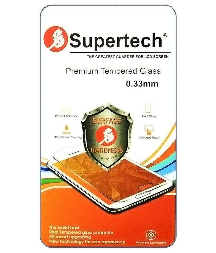 Samsung Galaxy J7 Tempered Glass Screen Guard by SUPERTECH