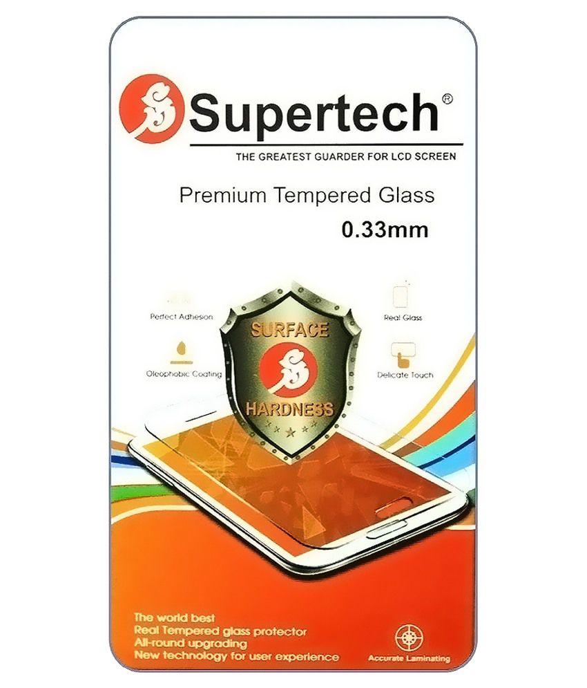 Samsung Galaxy A3 Tempered Glass Screen Guard by SUPERTECH