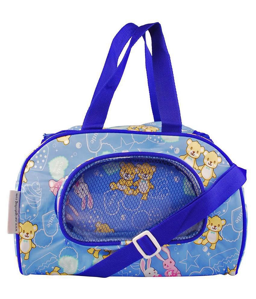 buy bazaar pirates blue diaper bag at best prices in india snapdeal. Black Bedroom Furniture Sets. Home Design Ideas