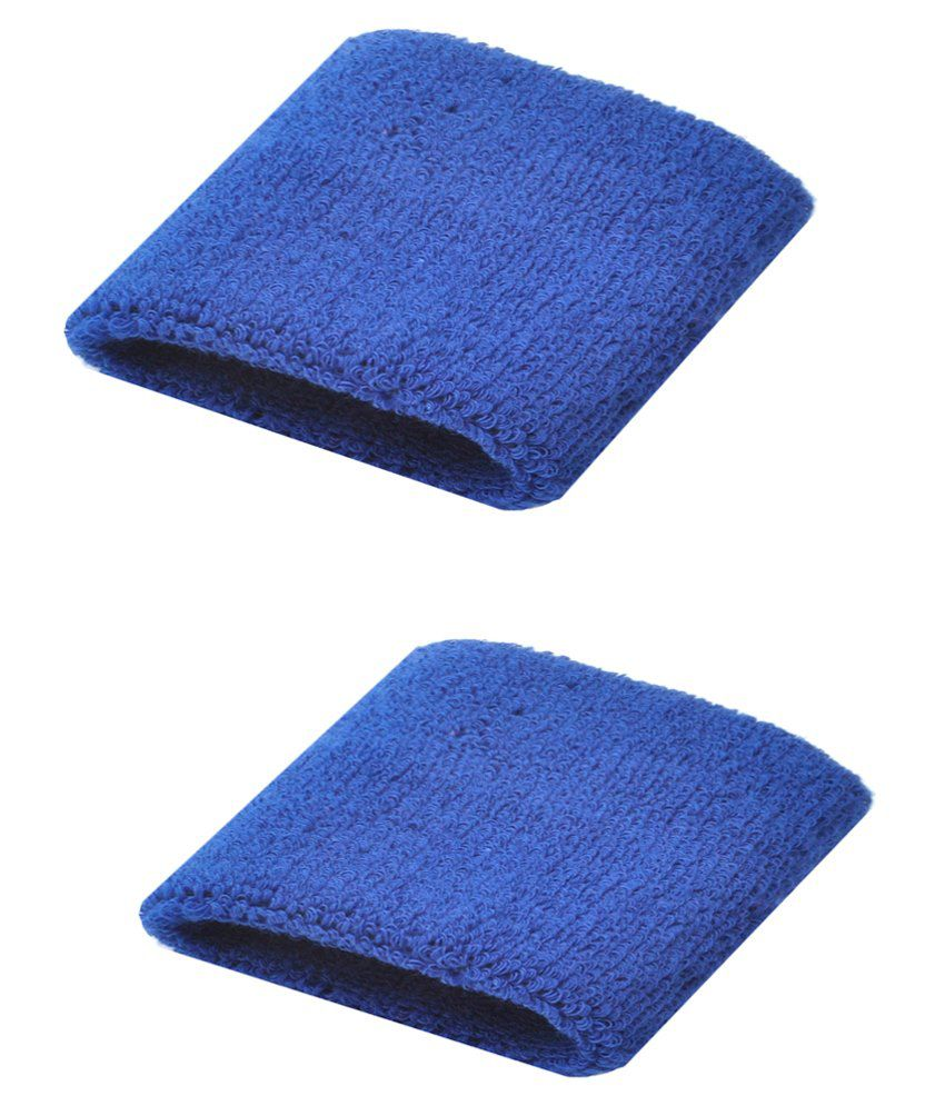 Futaba Blue Rubber Unisex Sports Sweatband