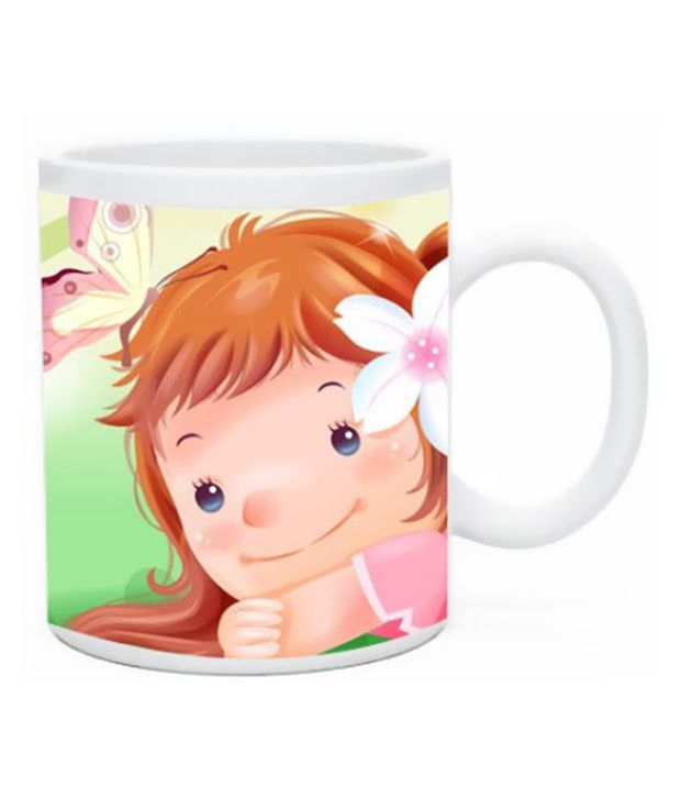 Go Online Shop Ceramic Mirror Finish Coffee Mug