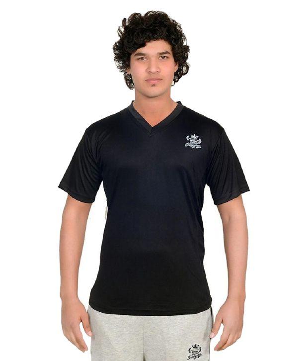 Shredded Prophysique Black V-Neck T Shirts