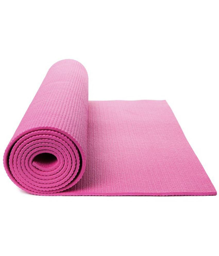 Skycandle Pink Yoga Mat Buy Online At Best Price On Snapdeal