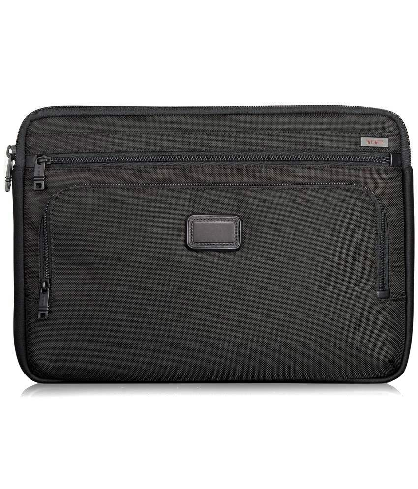 Tumi Black Laptop Sleeves