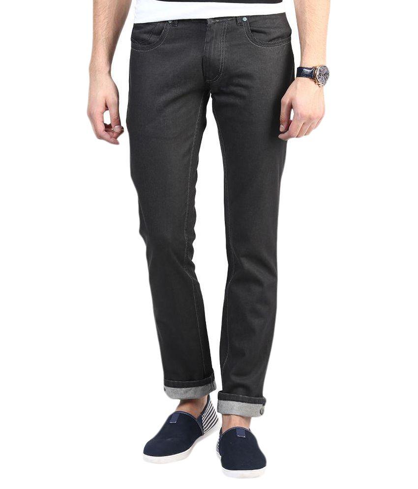 3 Concept Black Slim Fit Jeans