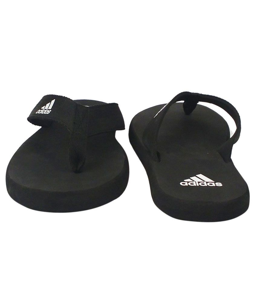 Adidas Black Slippers Price in India