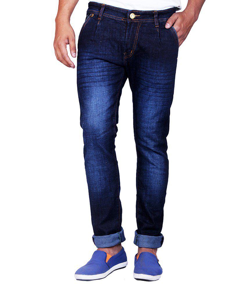 Calveen Blue Slim Fit Jeans