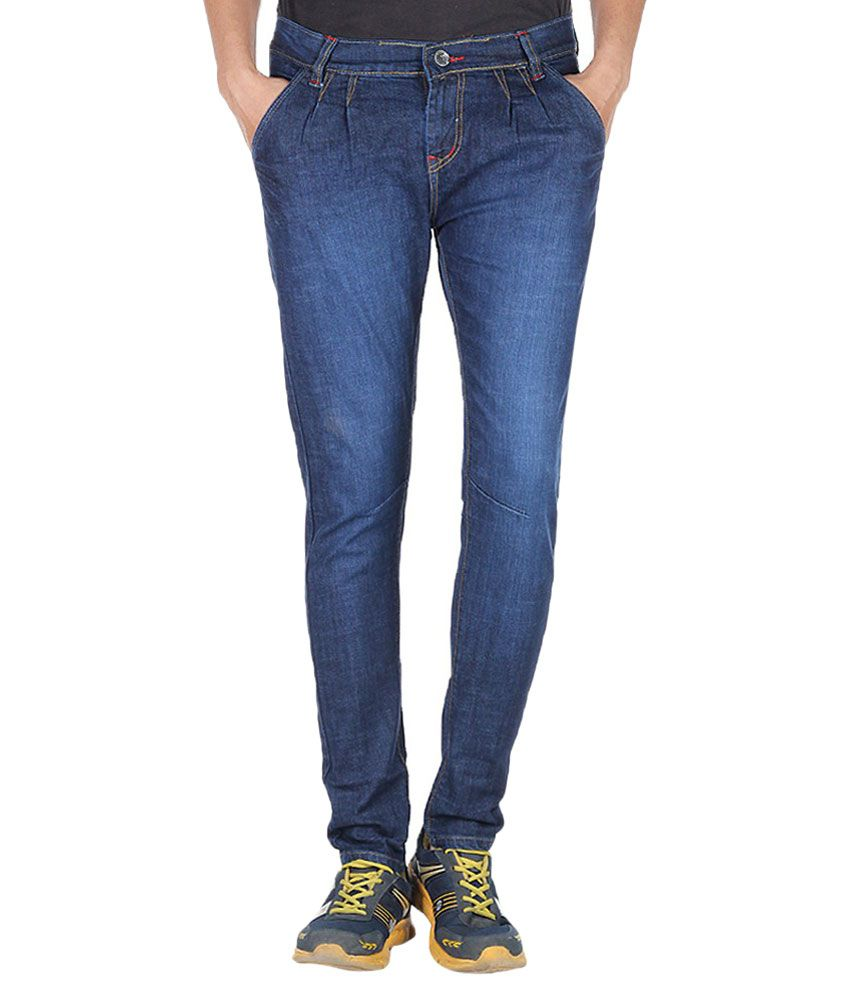 Reo Blue Slim Fit Jeans