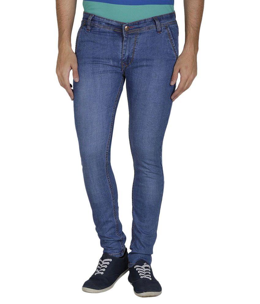 Reo Blue Slim Fit Jeans
