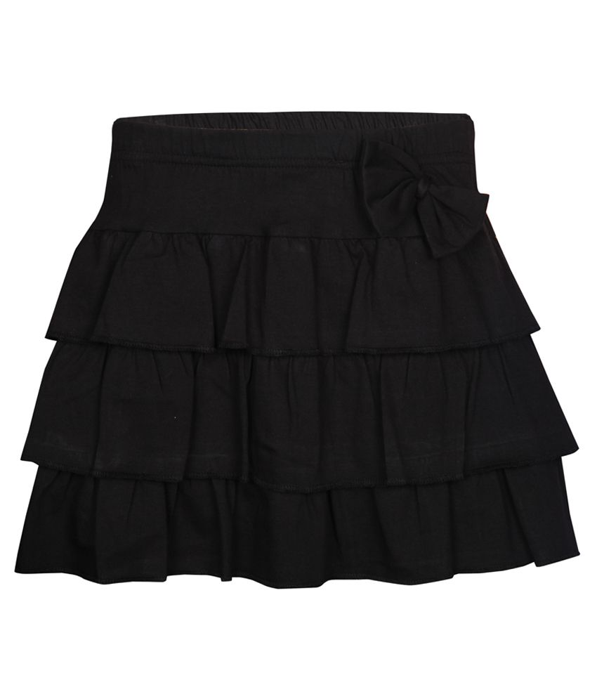 Gini & Jony Black Skirt