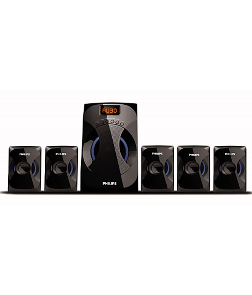 0320ad79 Buy Philips SPA 4040 Blast BT 5.1 Speaker System (No Aux Cable) Online at  Best Price in India - Snapdeal
