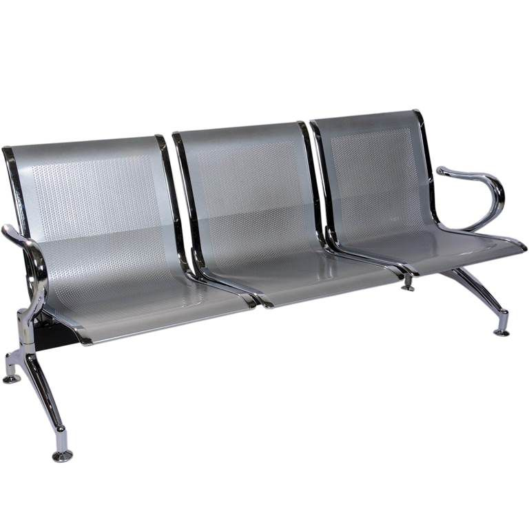 Spacio Airport Three Seater Chair Chrome Sofa Buy Spacio