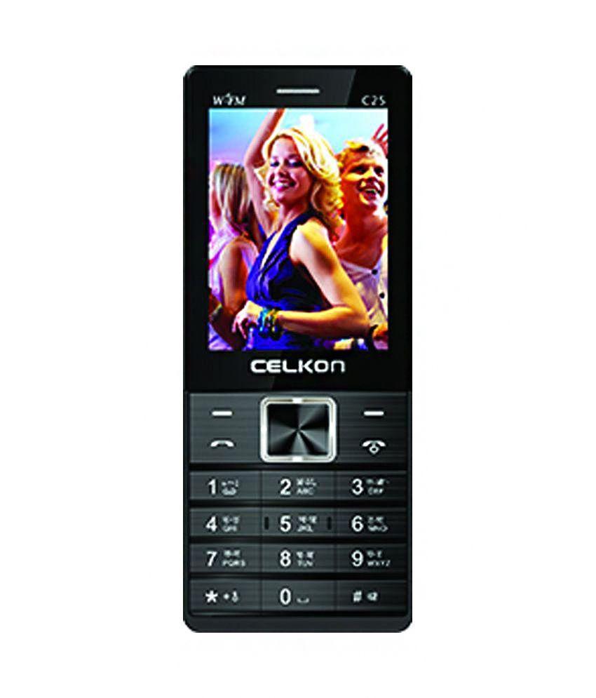 Celkon C25 512 MB Black