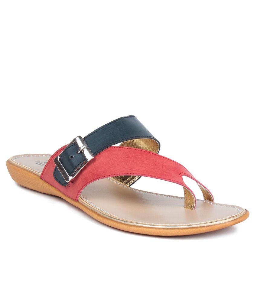 MSC Black Slippers & Flip Flops