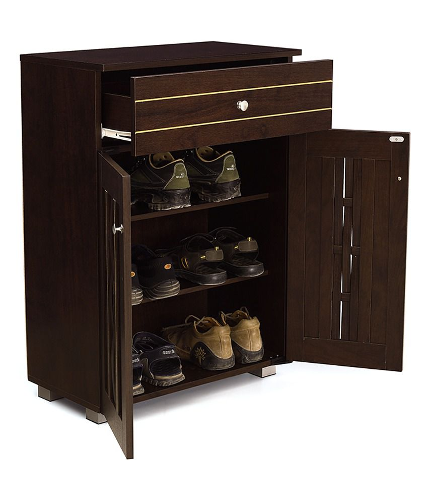 Parma 2 Doors Shoes Rack with 1