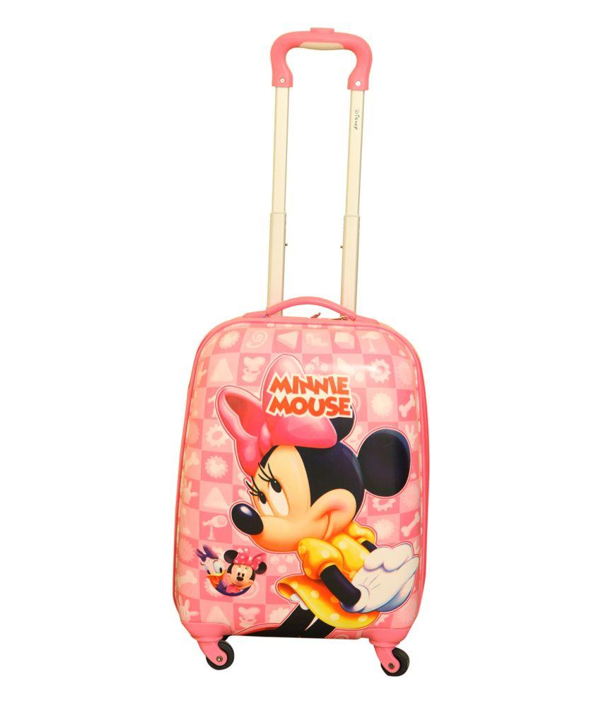 Disney Gamme Minnie (Pink) Kids Luggage Trolley Bag - Buy Disney ...