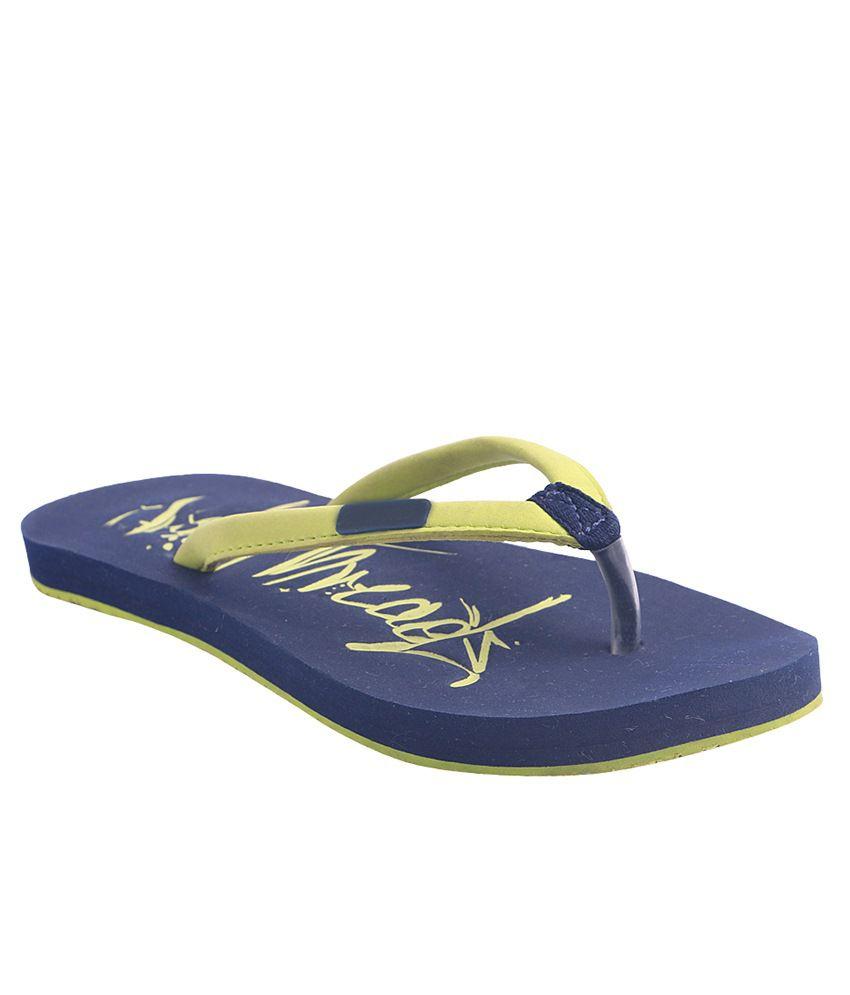 Pantof Blue Slippers & Flip Flops