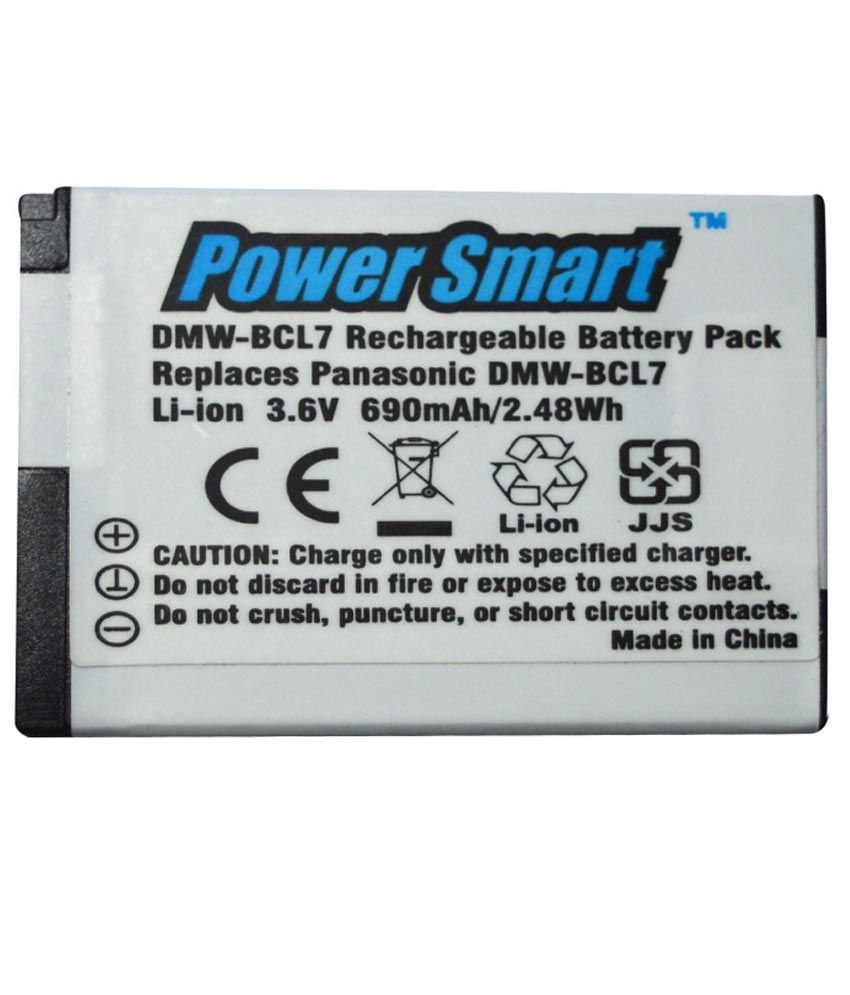 Power Smart 3.6v Li Ion Rechargable Battery for Panasonic DMW BCL7