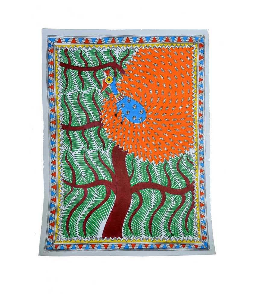 Craftuno Multicolour Tree Of Life Painting