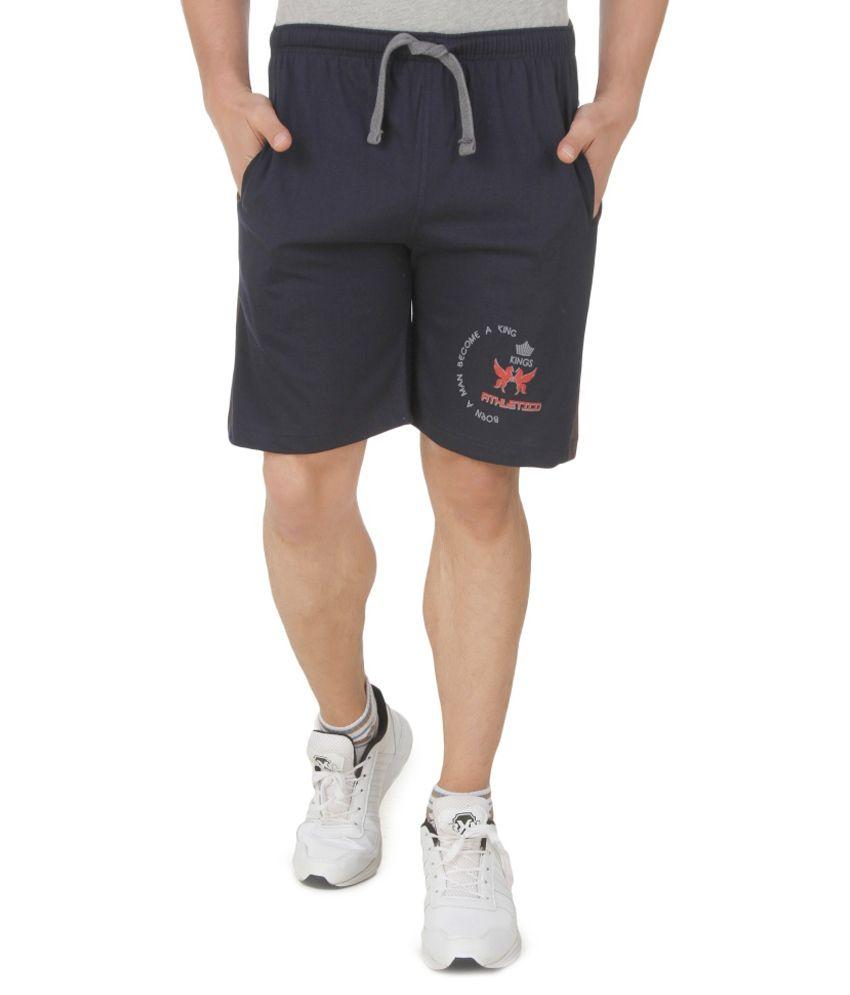 Athletico Navy Shorts