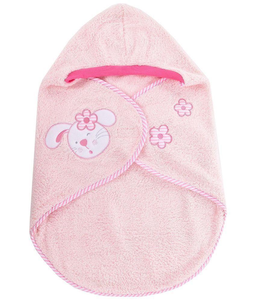 Baby Bucket Pink Baby Wrap