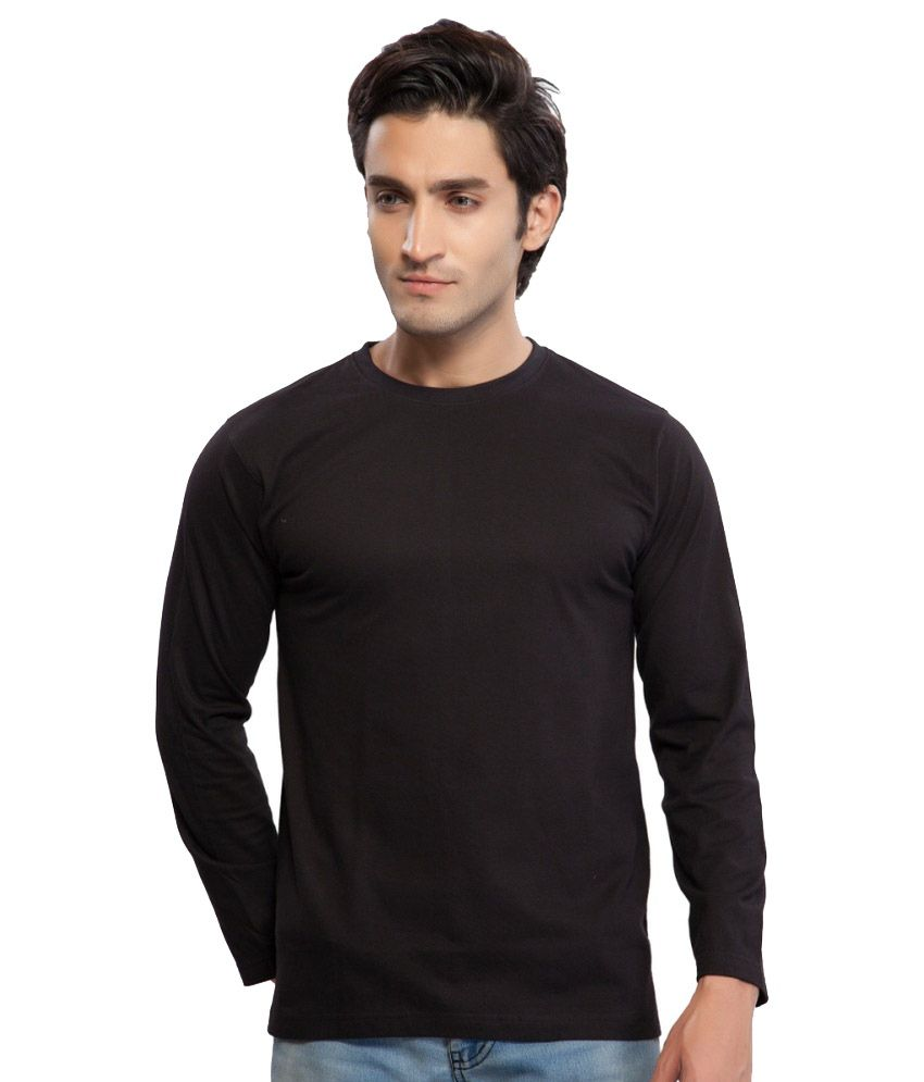 Clifton Fitness Men's Mustee Full Sleeve -Black