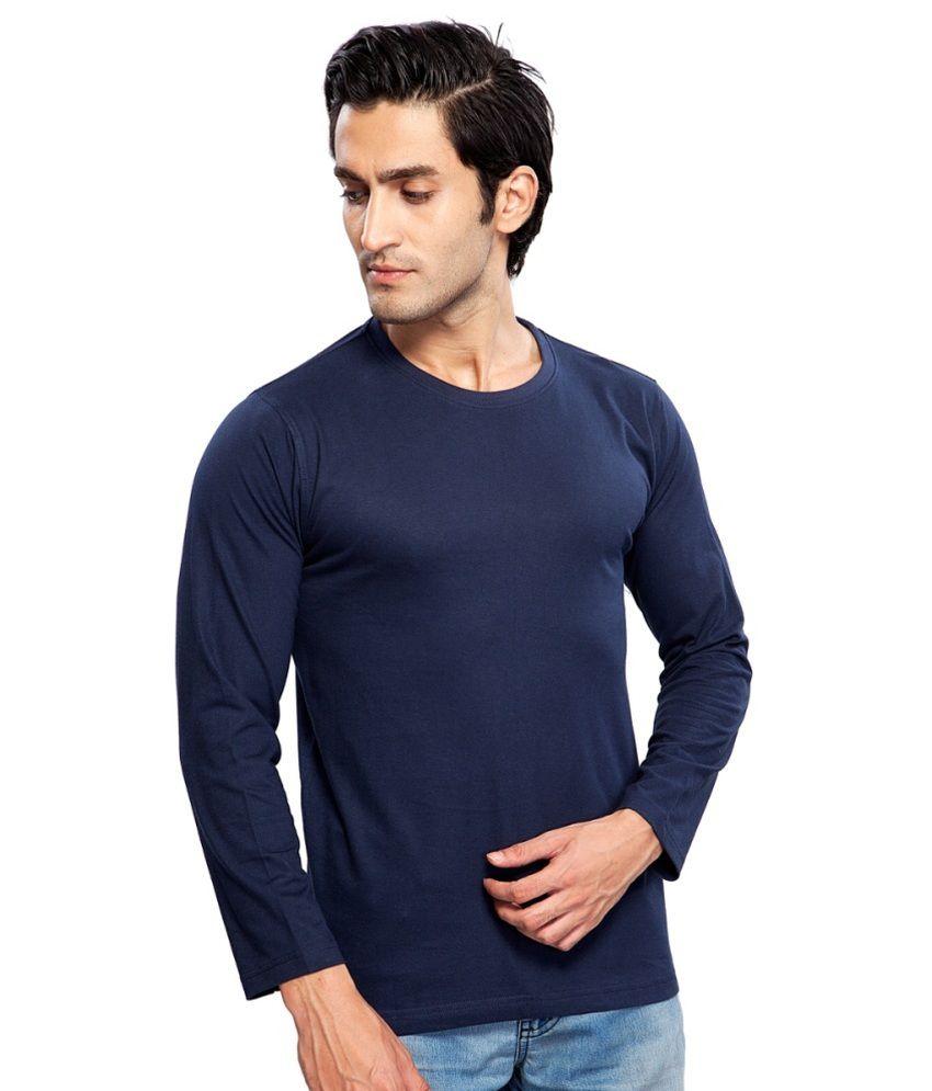 Clifton Fitness Men's Mustee Full Sleeve -Navy