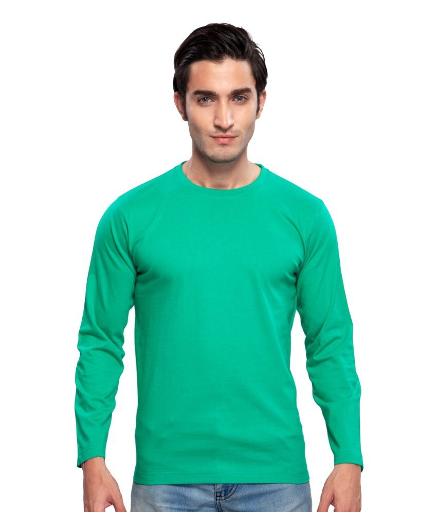 Clifton Fitness Men's Mustee Full Sleeve -Stump Green