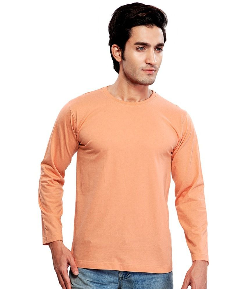 Clifton Fitness Men's Mustee Full Sleeve -Deep Orange