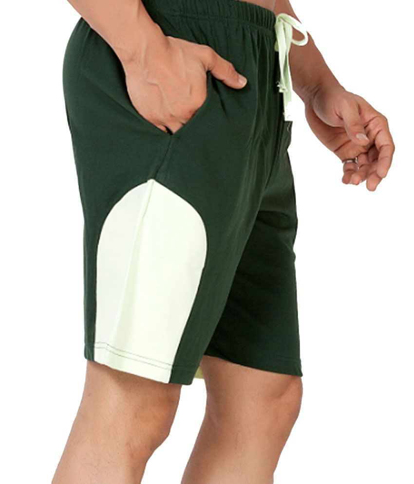 Clifton Fitness Men's Shorts -BottleGreen/Pista