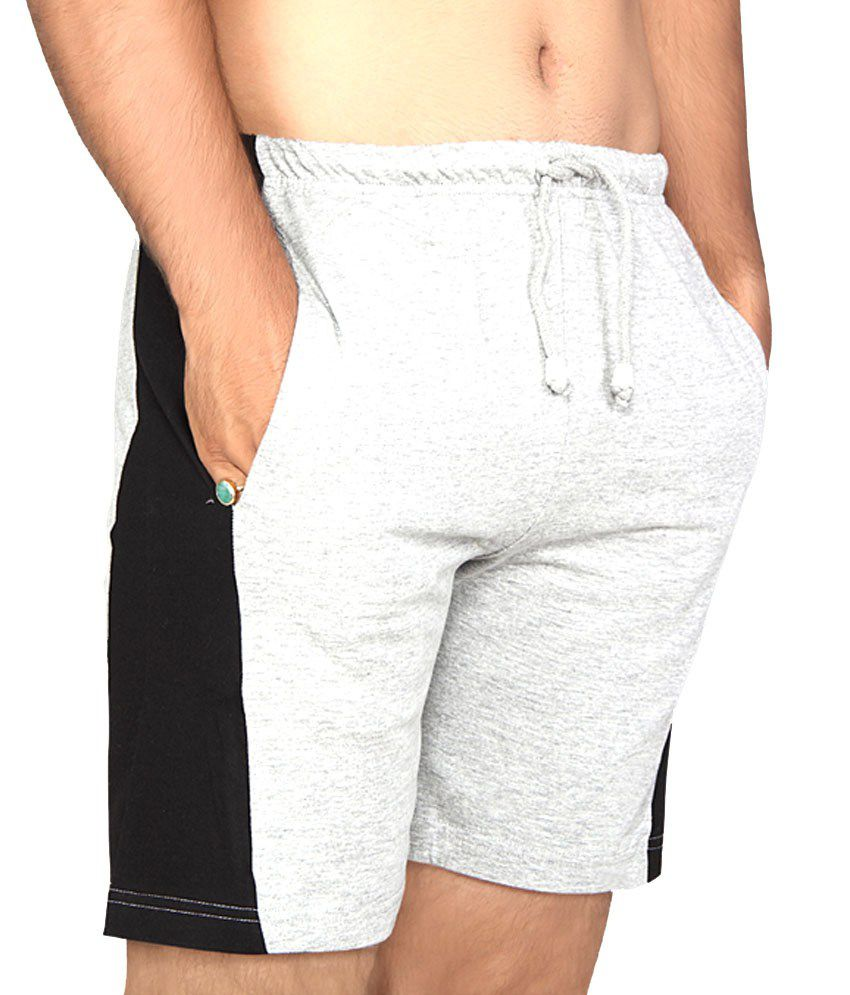 Clifton Fitness Men's Shorts -Grey Melange