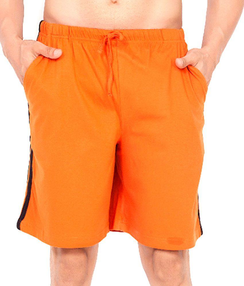 Clifton Fitness Men's Shorts -Rust
