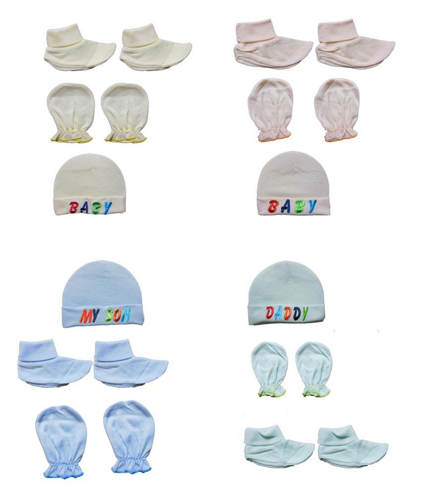 Login Multicolor Cotton Baby Caps 1ffbecbe1a9