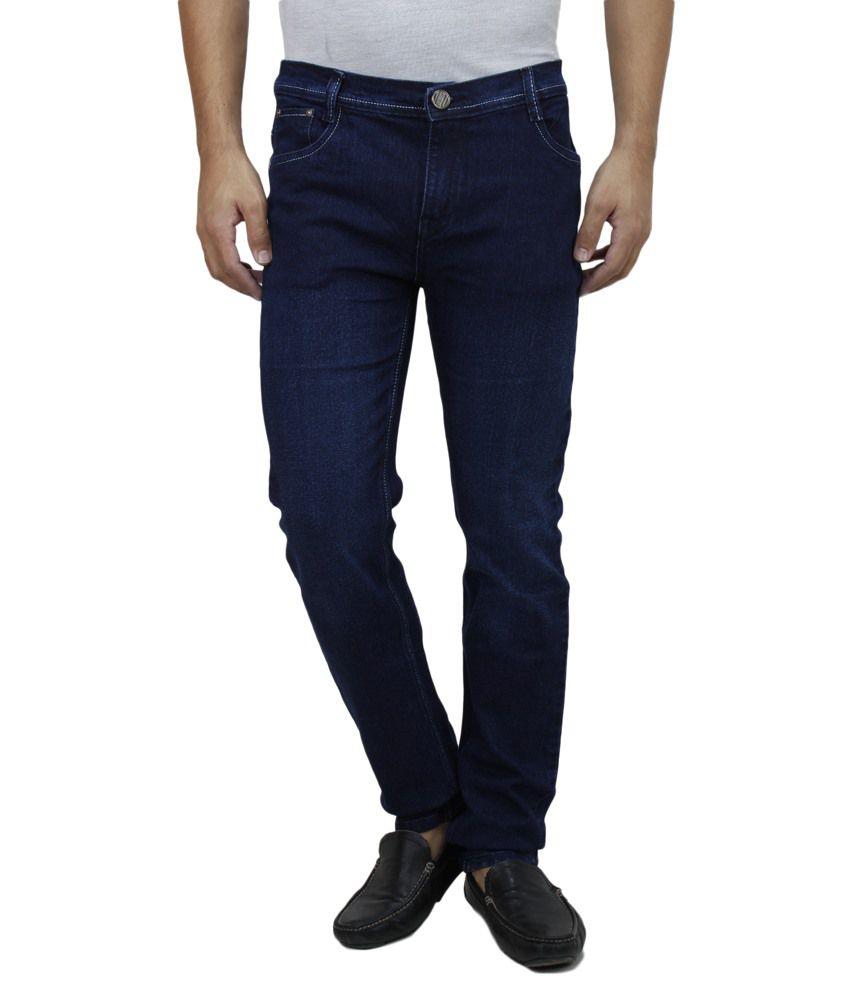 Feels Good Blue Slim Fit Jeans