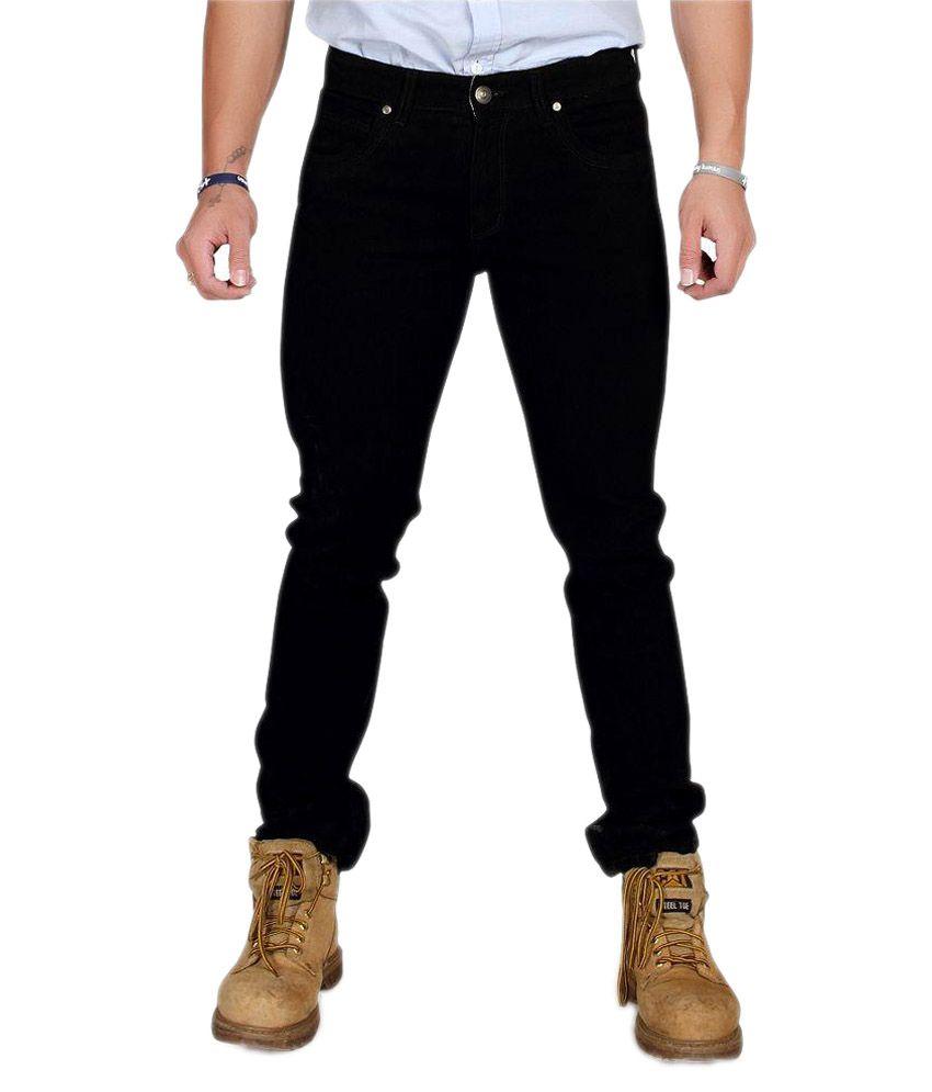 Nsum Black Slim Fit Jeans