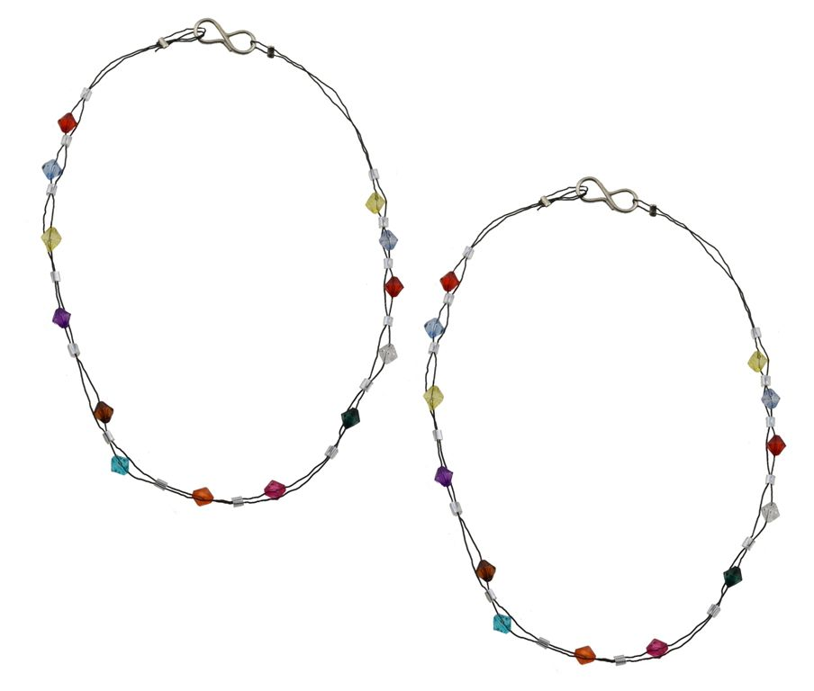 High Trendz Multicolor Pair of Anklets
