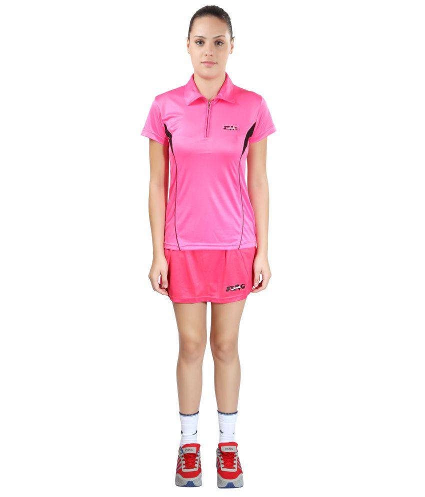 Stag Basic Skort for Women Pink