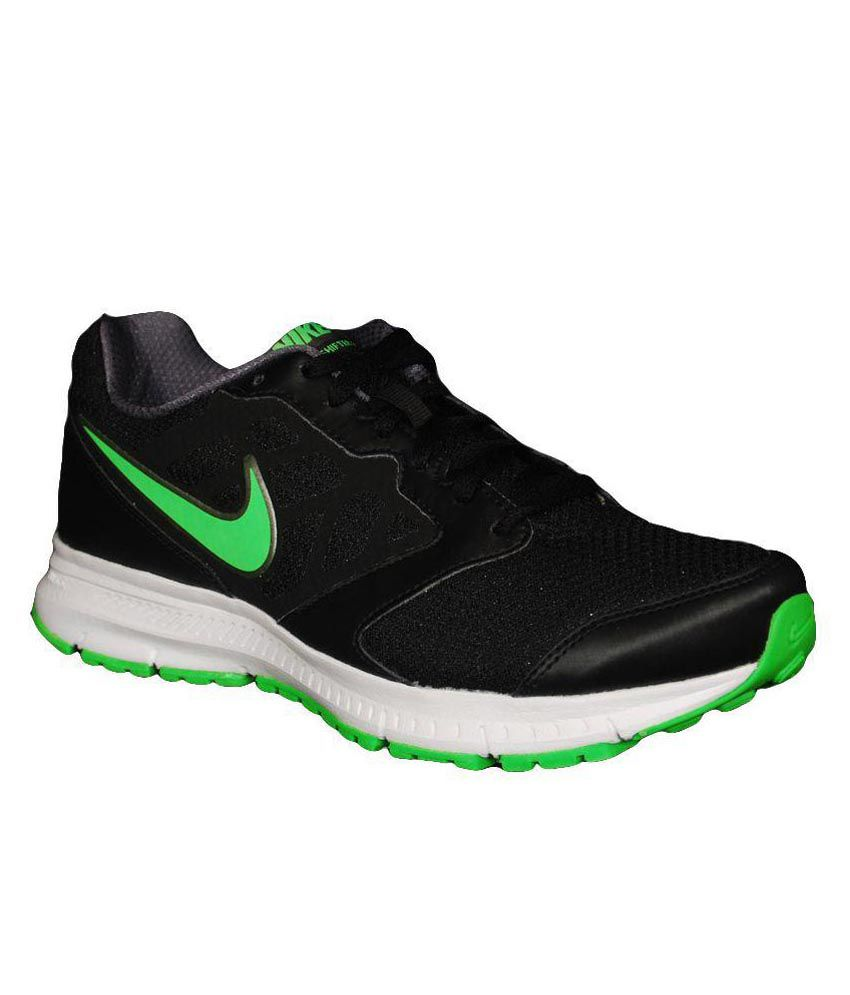 pretty nice da054 d613f ... where can i buy nike black running shoes available at snapdeal for  rs.2680 free ...