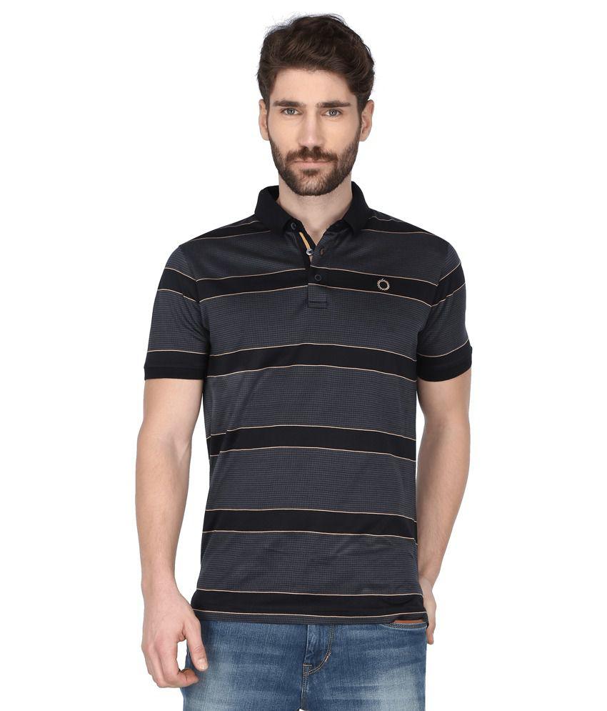 Proline Black Polo T Shirts