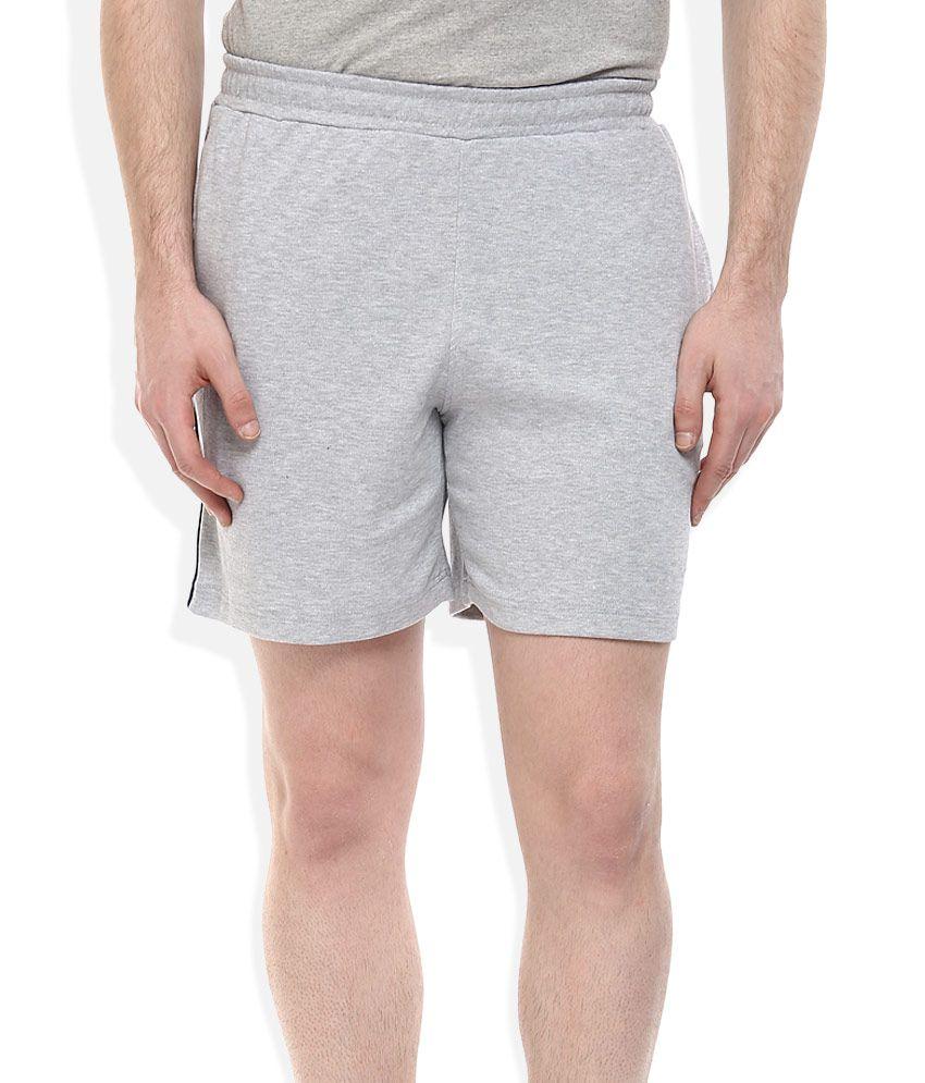 Proline Gray Regular Fit Shorts
