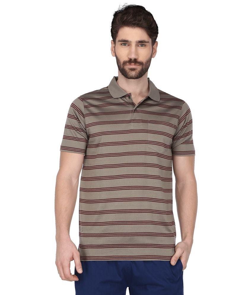 Proline Khaki Polo T Shirts