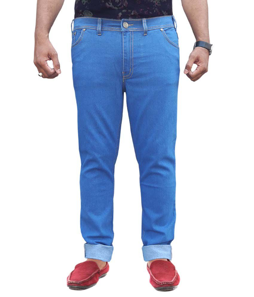 White Pelican Blue Regular Fit Jeans