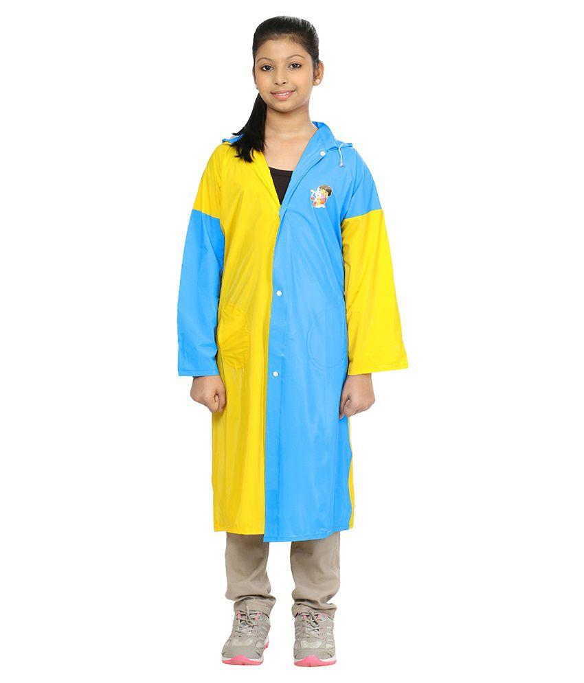 rainfun Solid Girl's Raincoat
