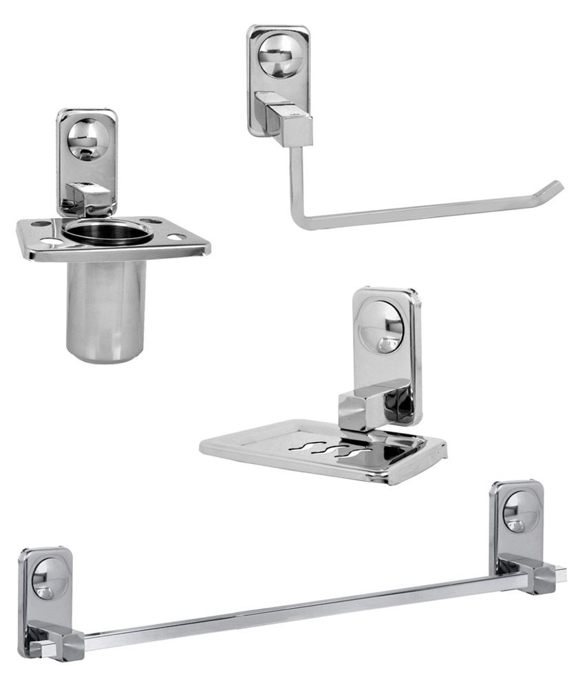 3d5b35388 Buy Doyours Bathroom Accessories Set - 4 Pcs Online at Low Price in India -  Snapdeal