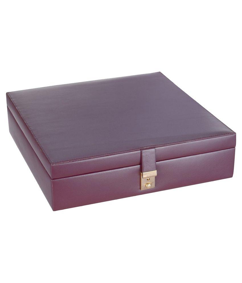 Leatherman Brown Jewellery Box