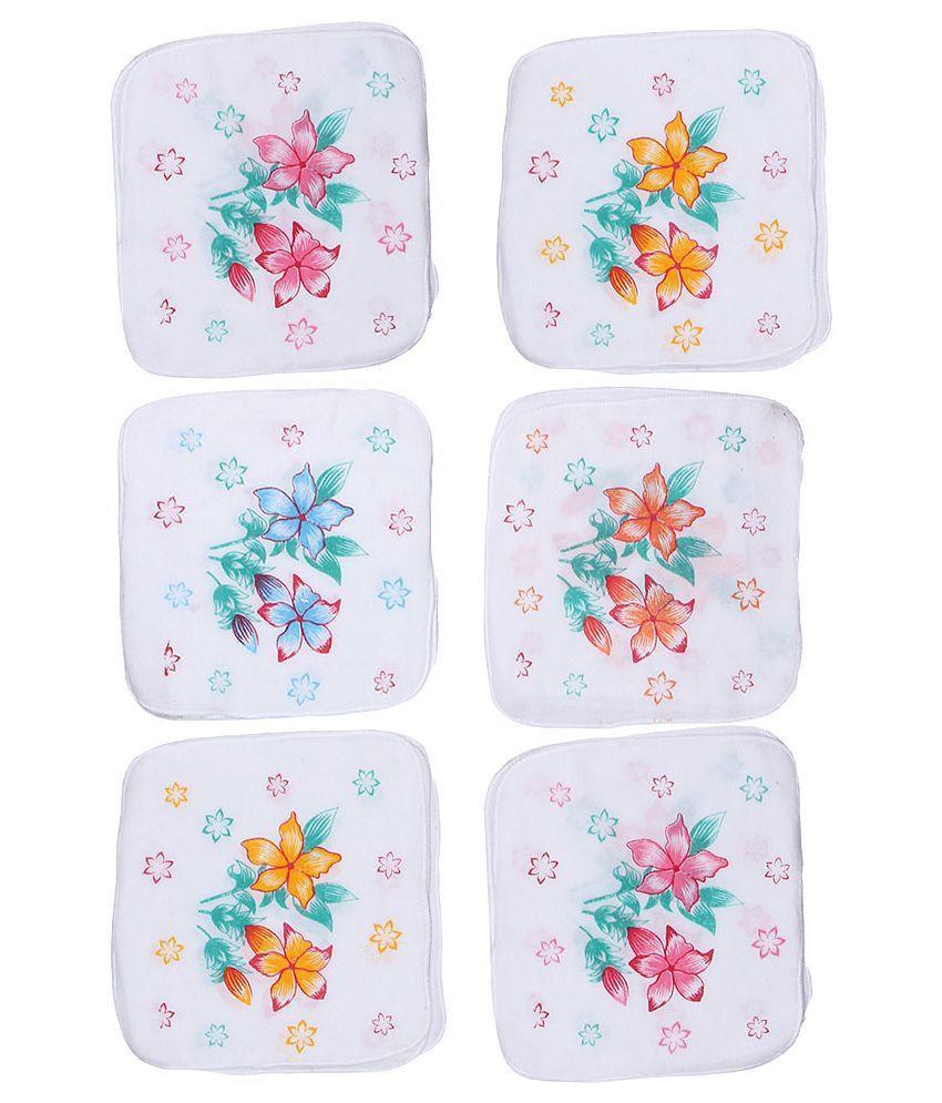 Belmarsh Multicolor Cotton Handkerchief - Pack of 6