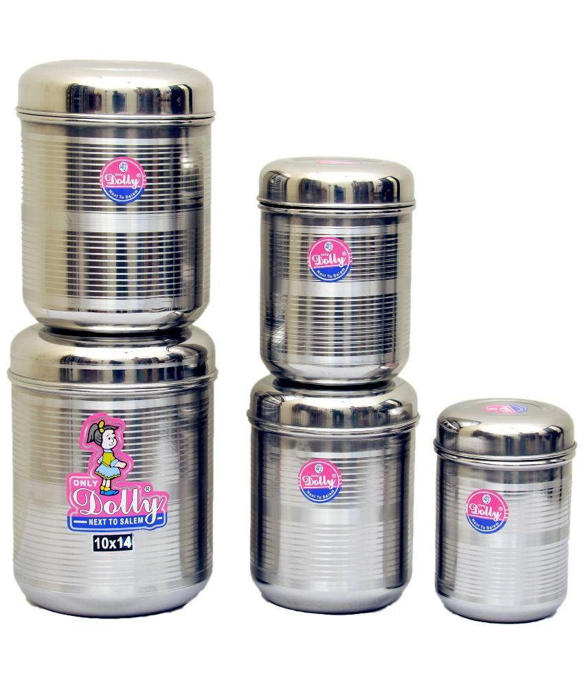 stainless steel storage containers for kitchen dolly silver stainless steel kitchen storage steel 9420